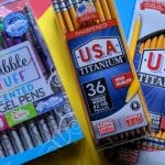 Scented Gel Pens and Titanium Pencils