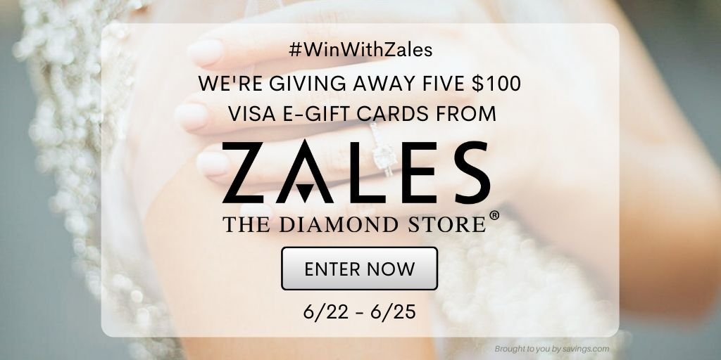 VISA Gift Card Giveaway from Zales