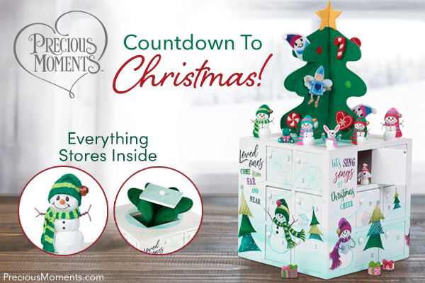 advent calendar precious moments christmas