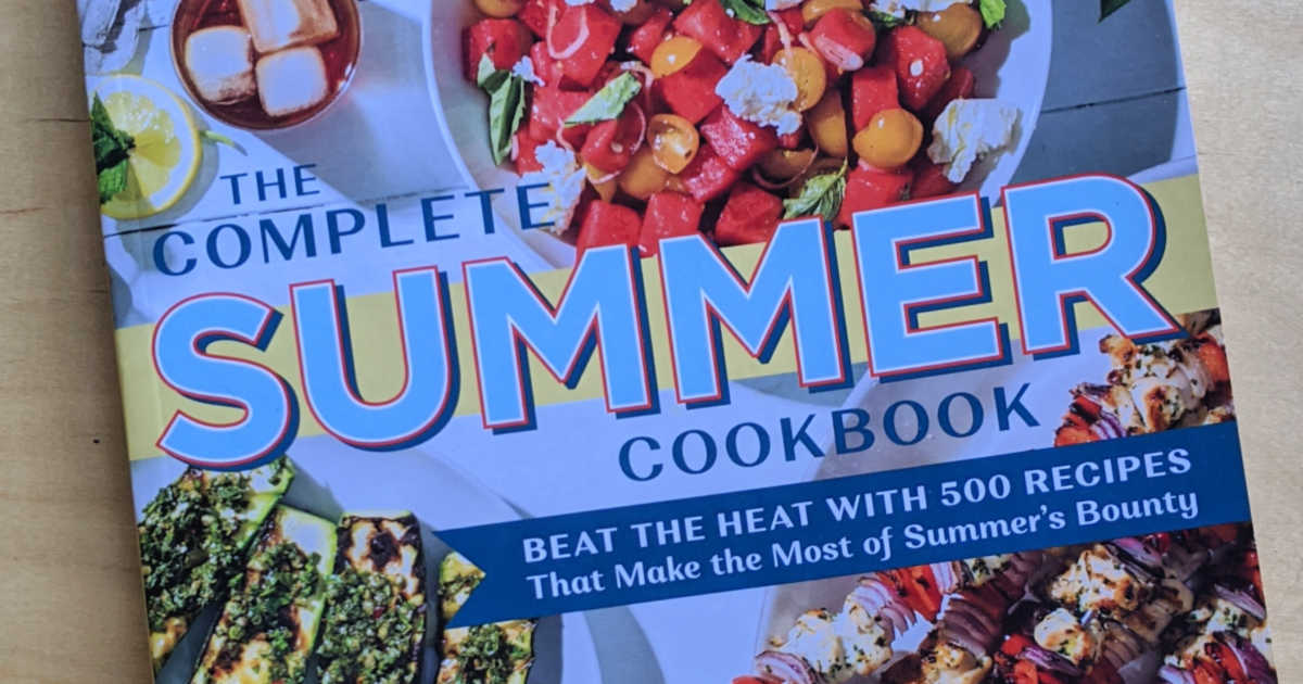 feature complete summer cookbook