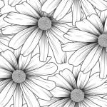 Free Printable Daisy Coloring Page