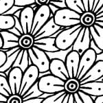 Free Printable Marigold Coloring Page