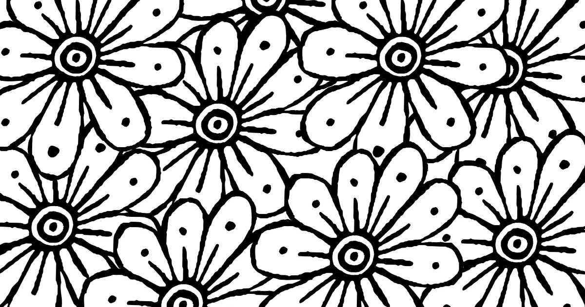 feature marigold coloring page