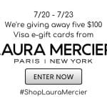 Laura Mercier VISA Gift Card Giveaway