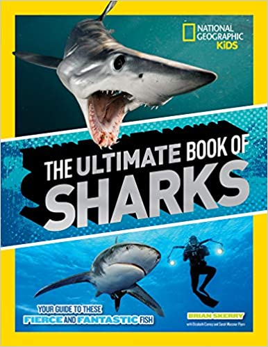 nat geo ultimate book of sharks