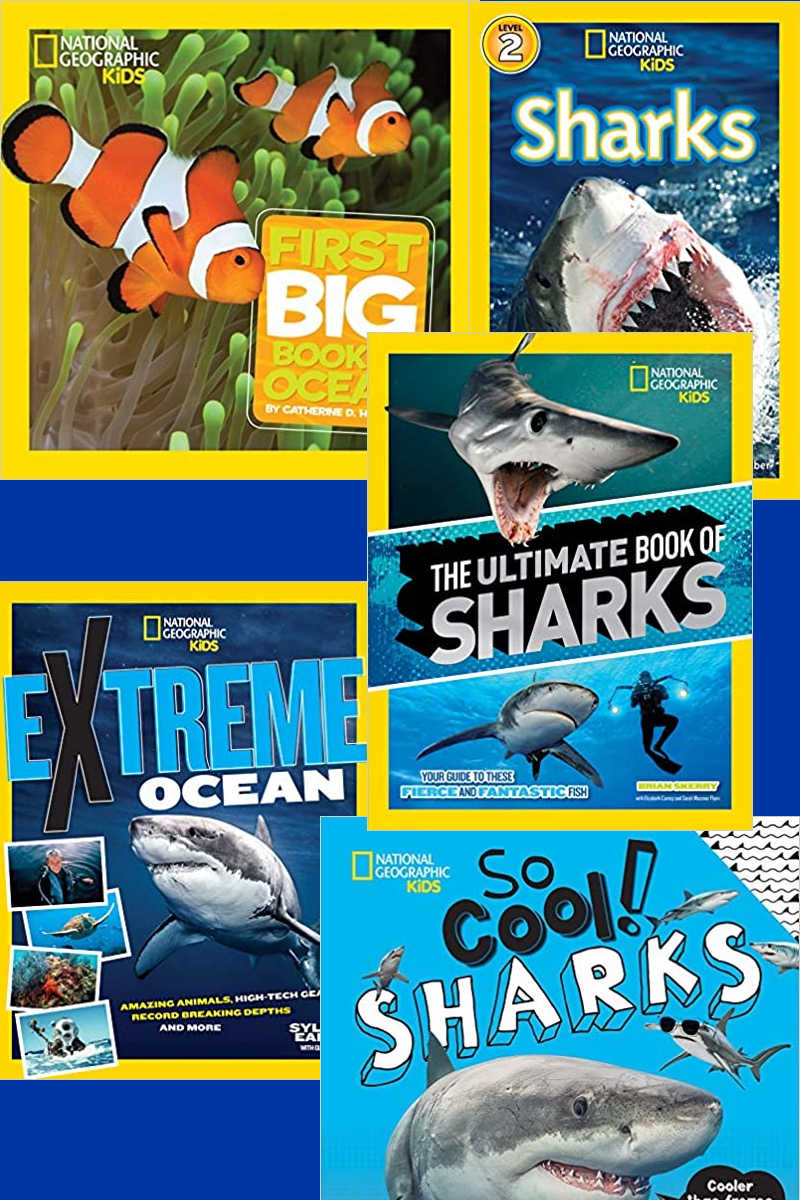 Fin-tastic Nat Geo Nature Books