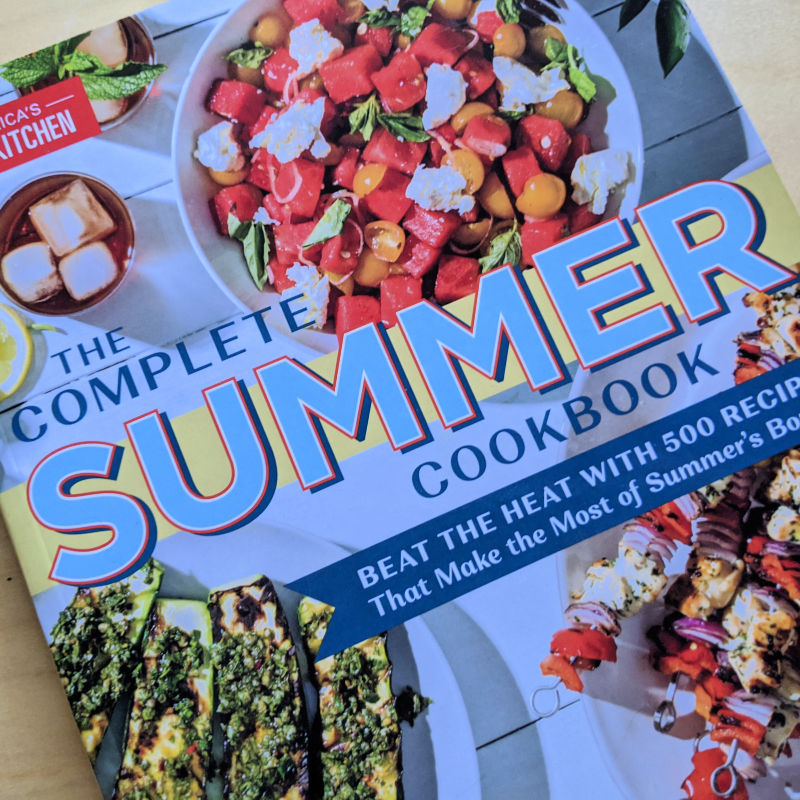 the summer cookbook
