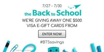 back to school visa giveaway