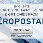 Aeropostale Gift Card Giveaway – Ends 8/13/20