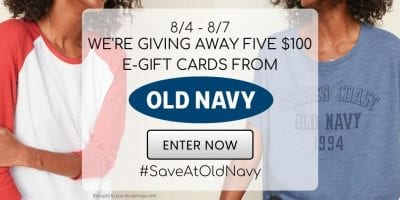old navy giveaway august