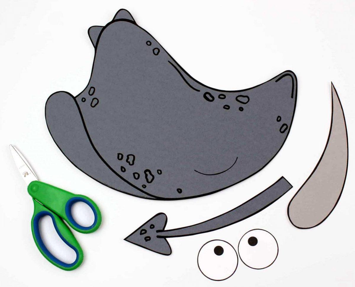 pieces for stingray craft