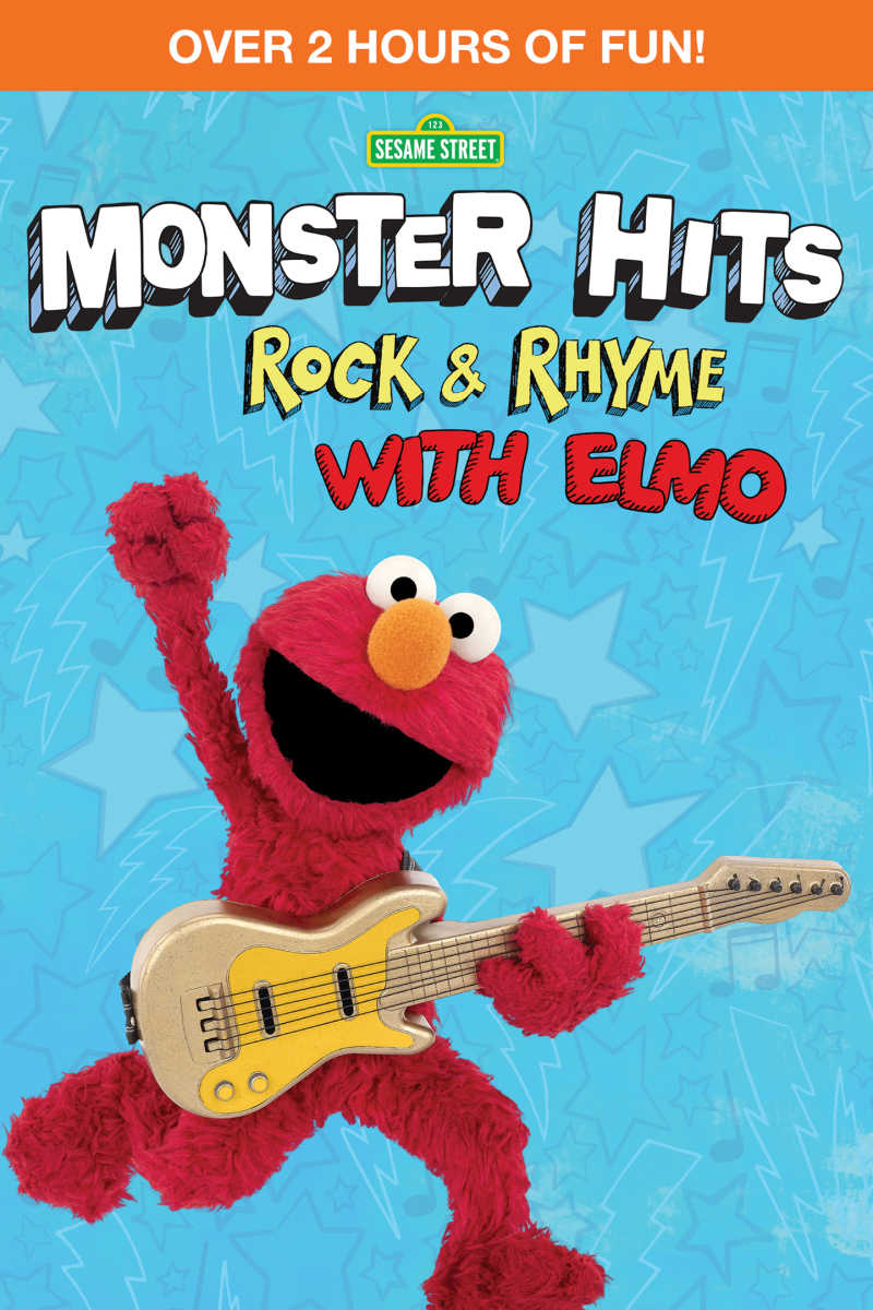 Sesame Street Monster Hits Rock & Rhyme With Elmo