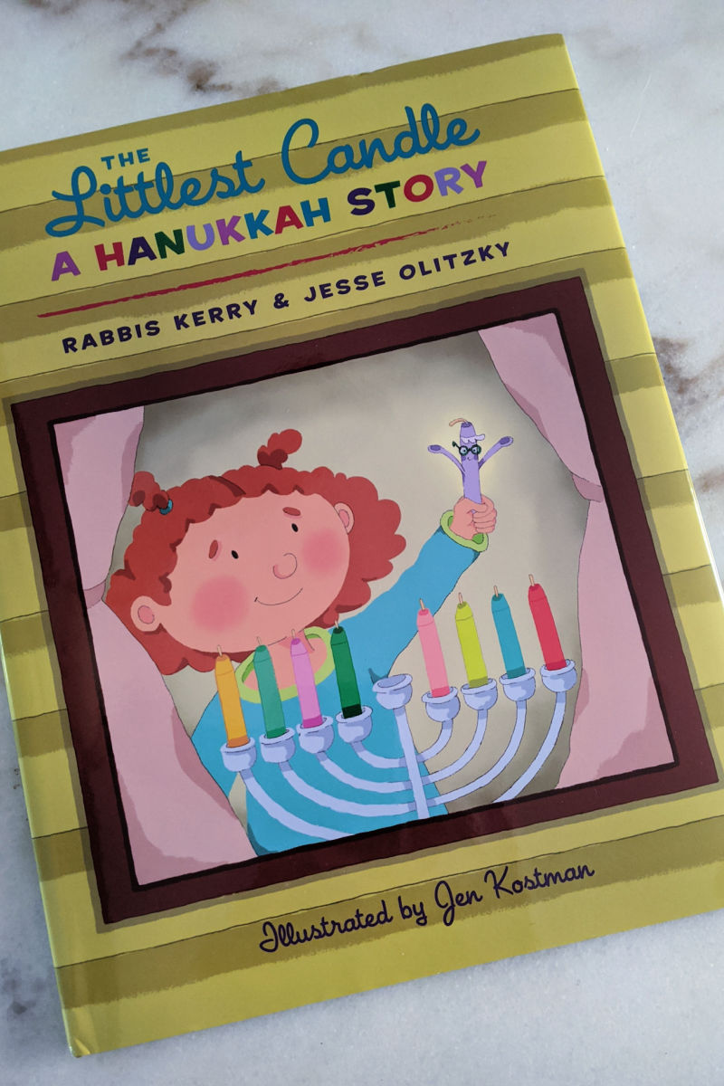 The Littlest Candle: A Hanukkah Story Book for Kids