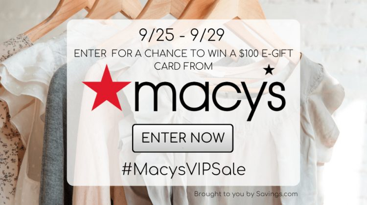 september macys gift card giveaway