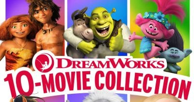 10 movie collection from dreamworks