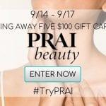 PRAI Beauty Gift Card Giveaway