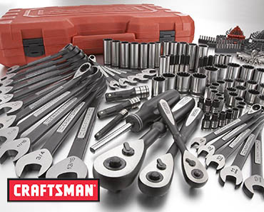 lots of craftsman tools