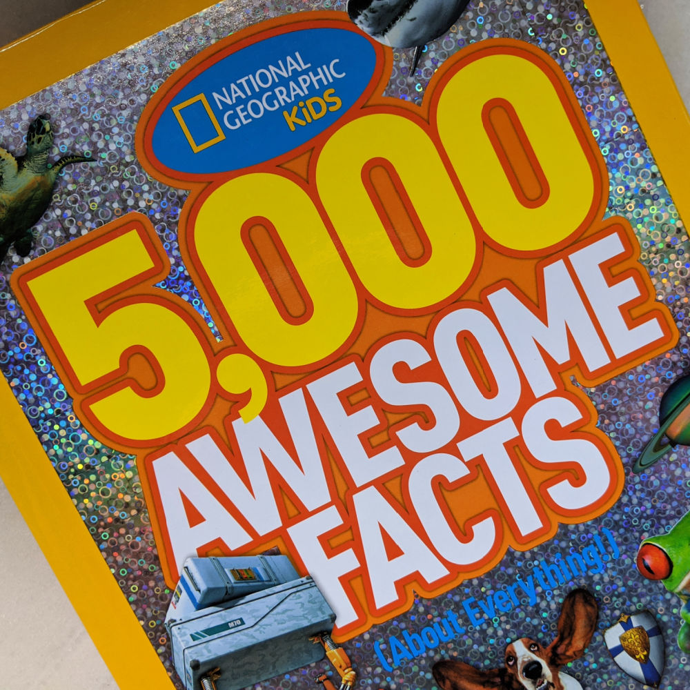 nat geo 5k awesome facts