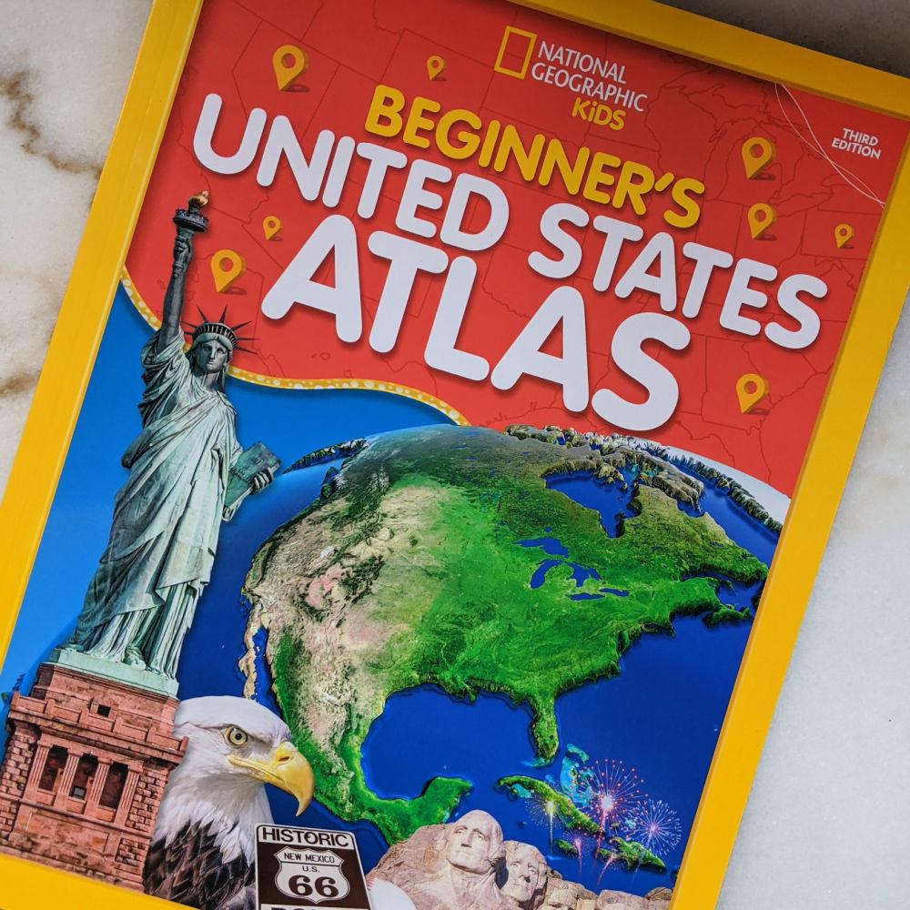 nat geo beginners atlas
