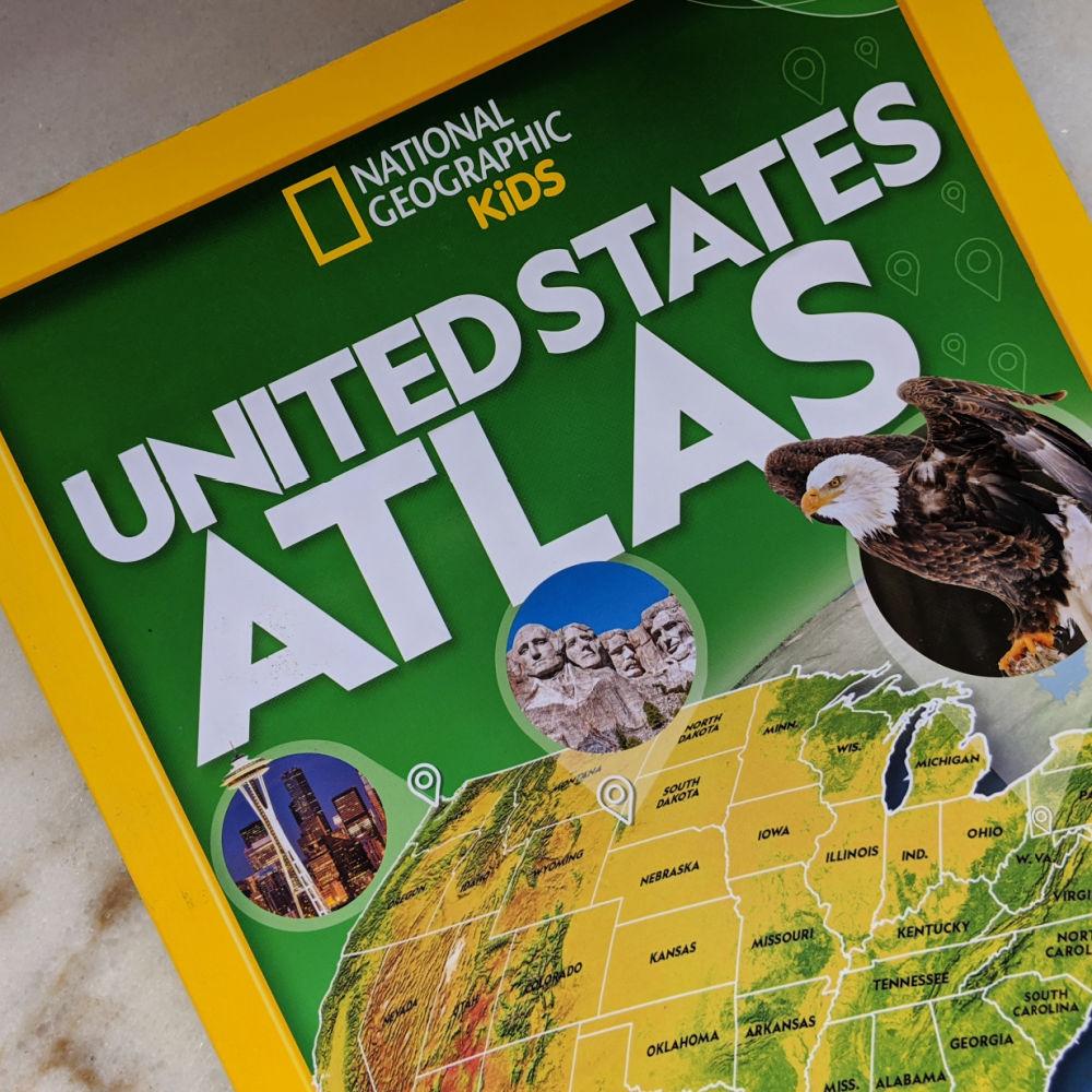 nat geo kids united states atlas