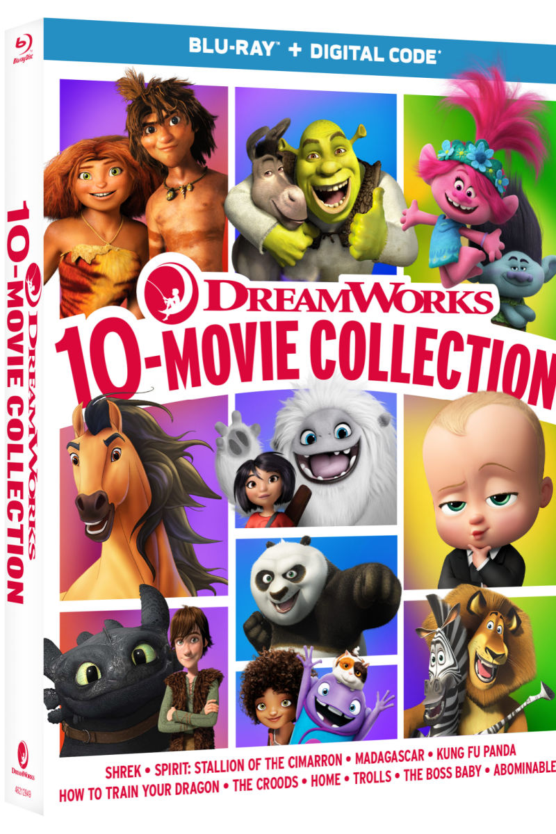 DreamWorks 10 Movie Collection #HolidayGiftGuide