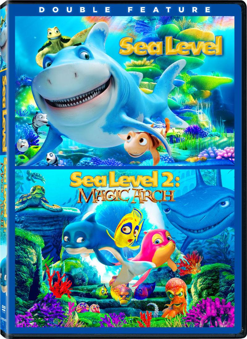 Sea Level Double Feature DVD - Sea Level & Sea Level 2: Magic Arch