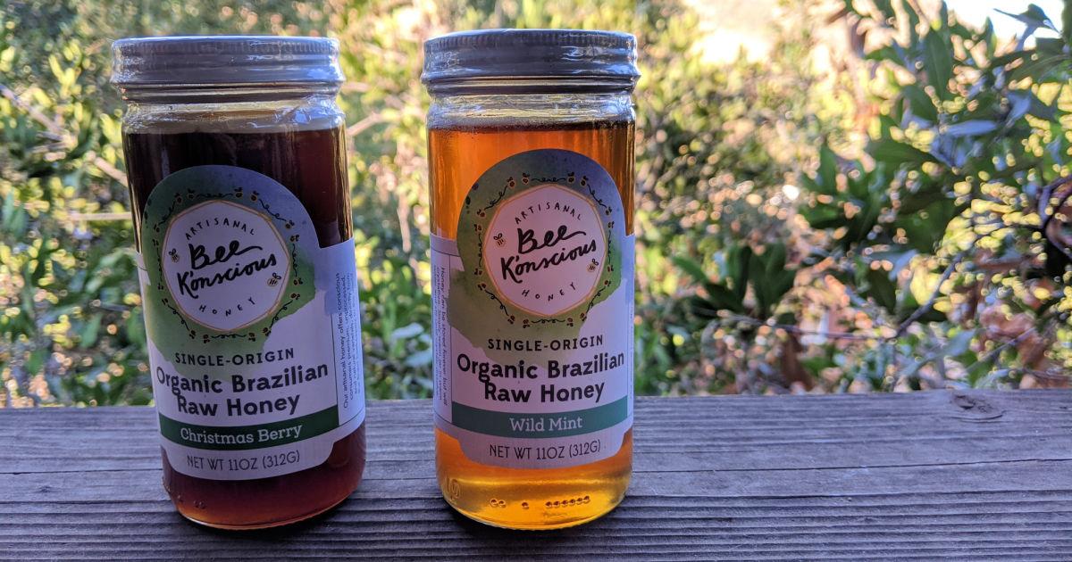 brazilian raw honey bee konscious