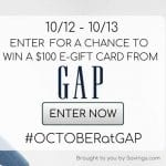 GAP Gift Card Giveaway