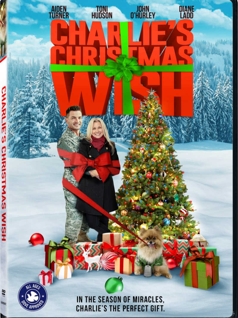 Charlie's Christmas Wish holiday movie for the family