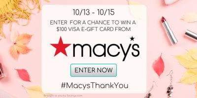 macys gift card giveaway oct 2020