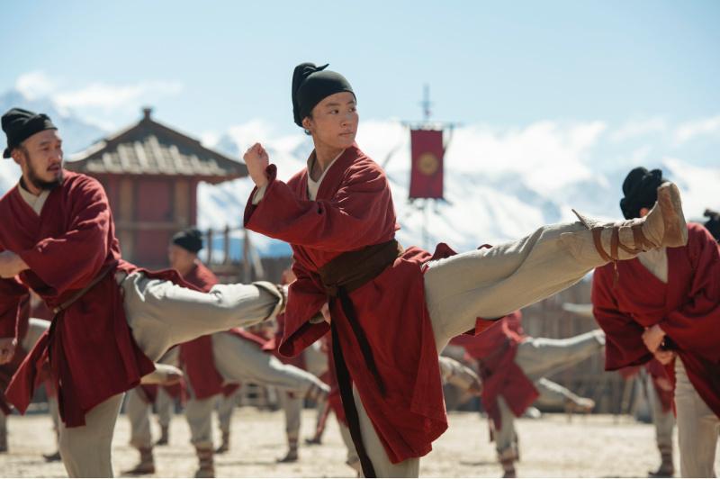 martial arts training in mulan