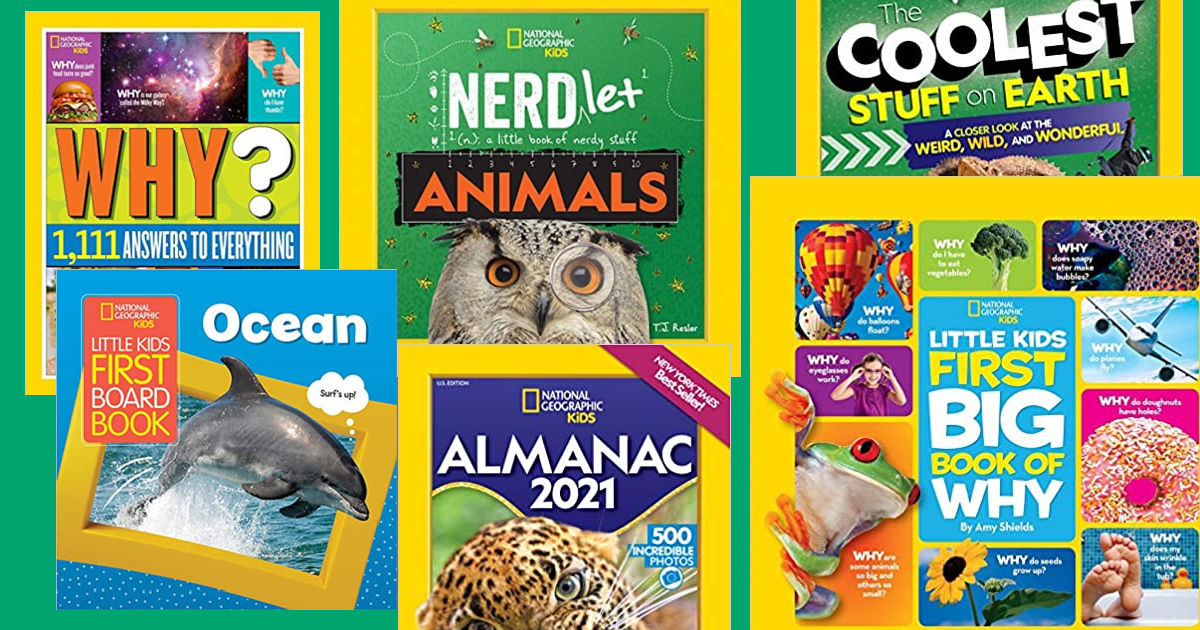 nat geo books for curious kids