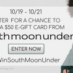 South Moon Under Gift Card Giveaway