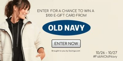 old navy giveaway oct 2020