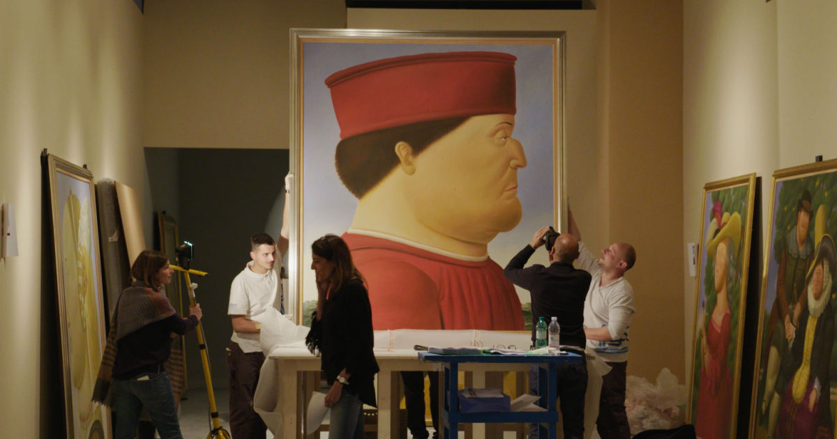 painting by botero