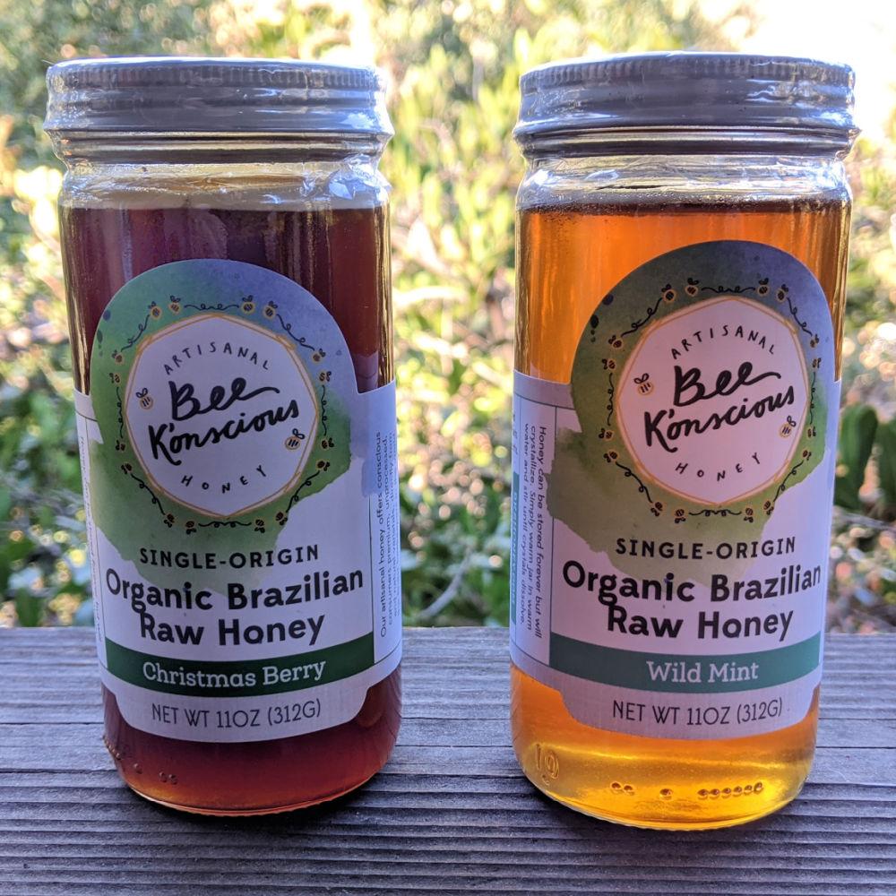 single origin organic raw honey