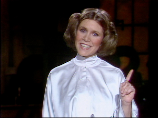 carrie fisher on snl