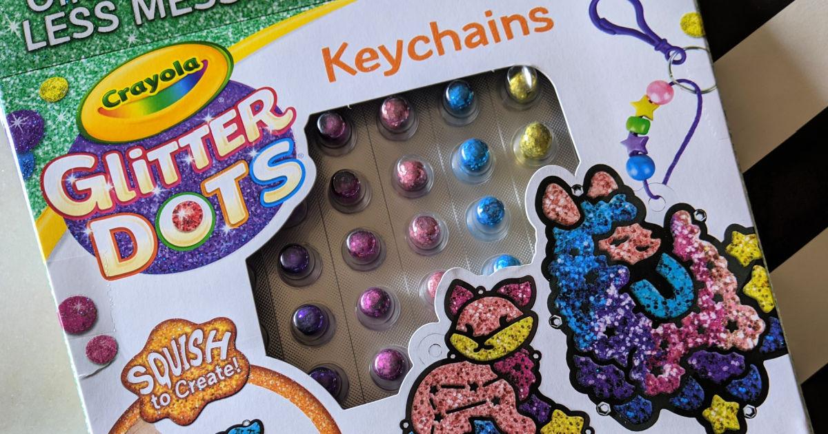 craft kit - crayola glitter dots