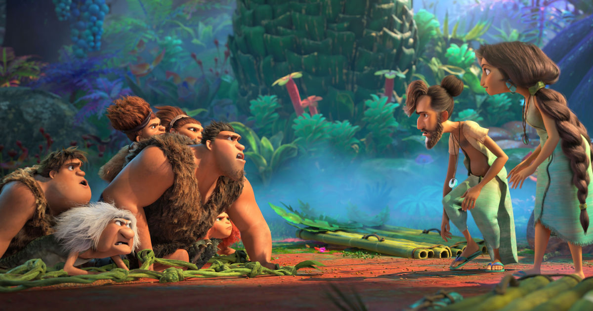 croods a new age families