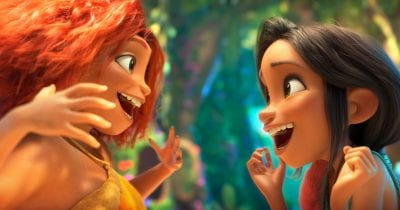 eep and dawn from the croods movie.