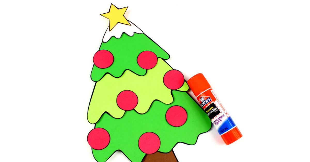 feature christmas tree craft