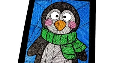 penguin line study