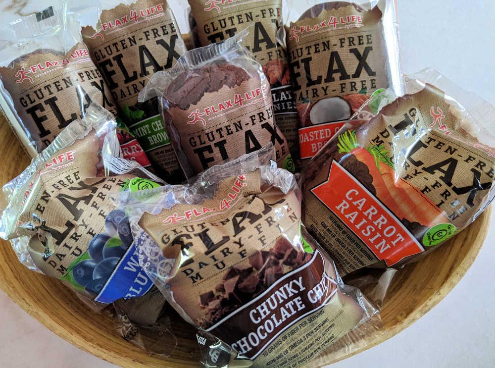 gluten free flax4life muffins