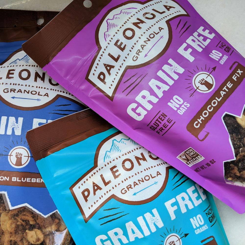 gluten free paleonola granola