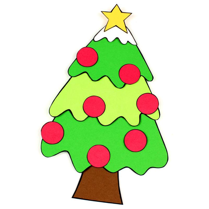 printable christmas tree craft