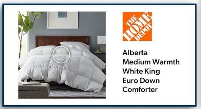 savings home depot bedding