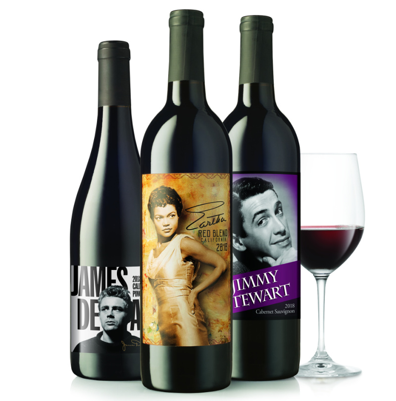 tcm movie themed wine