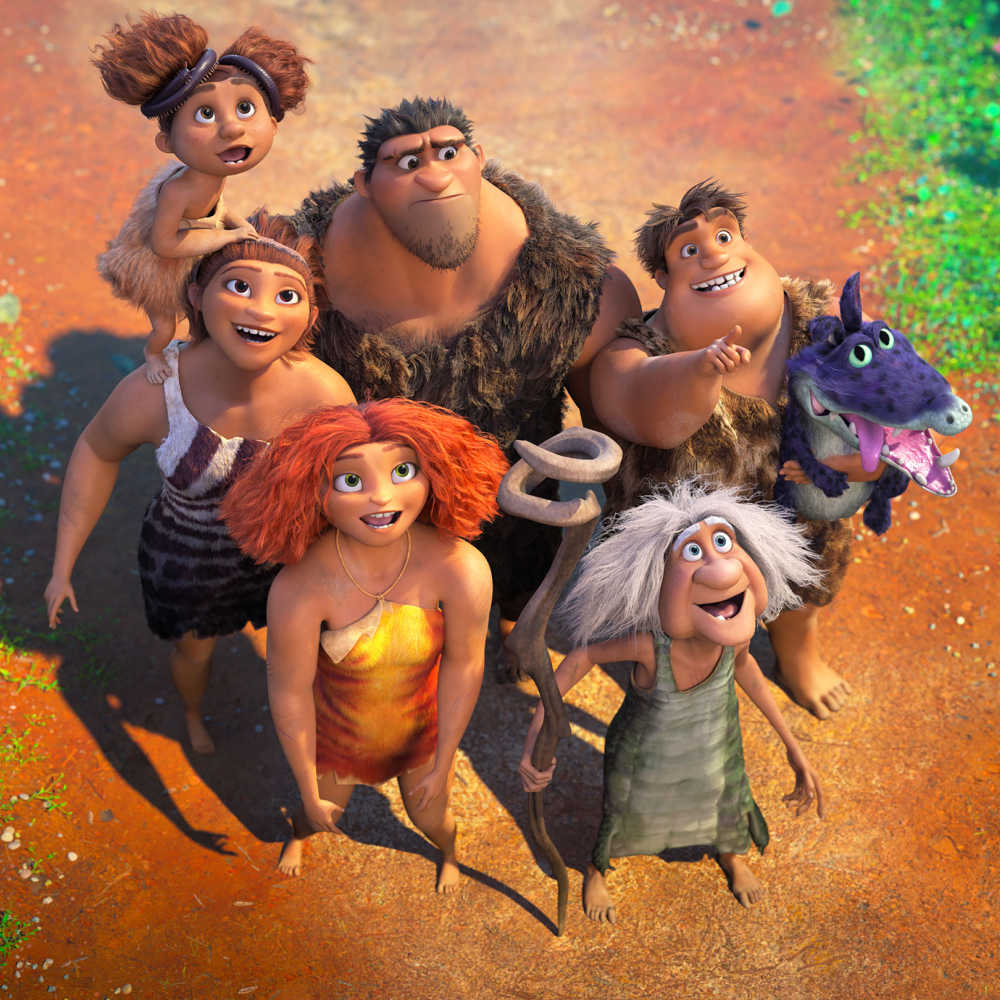 the croods family.
