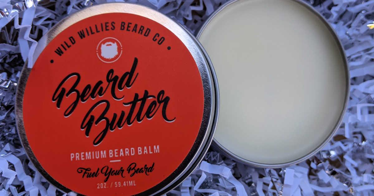 wild willies beard butter