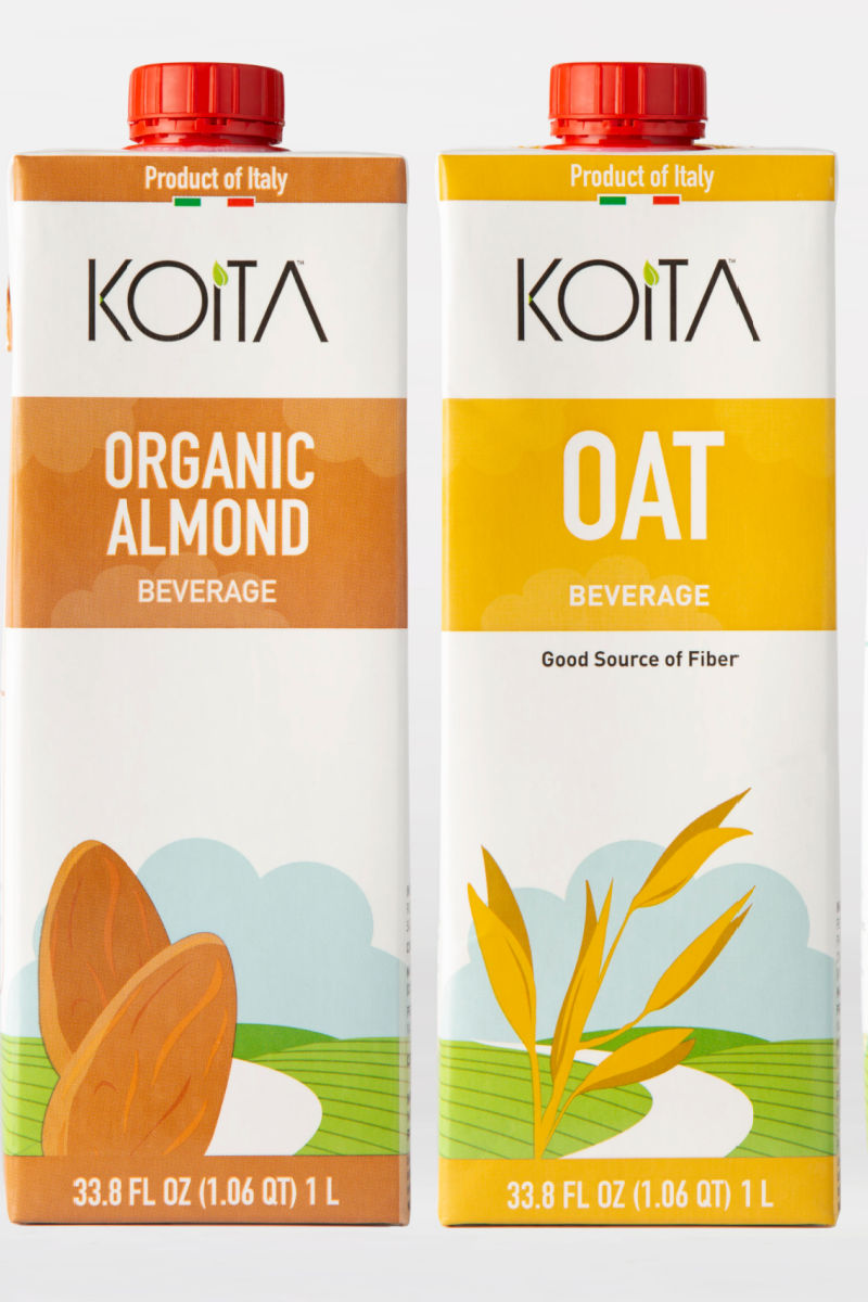 A delicious new line of plant based beverages has just arrived in the US, so you are going to want to try Koita milk alternatives!